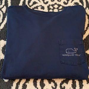 Long-Sleeve Vineyard Vines T-Shirt